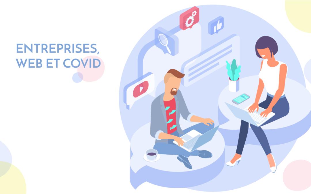 entreprise web covid