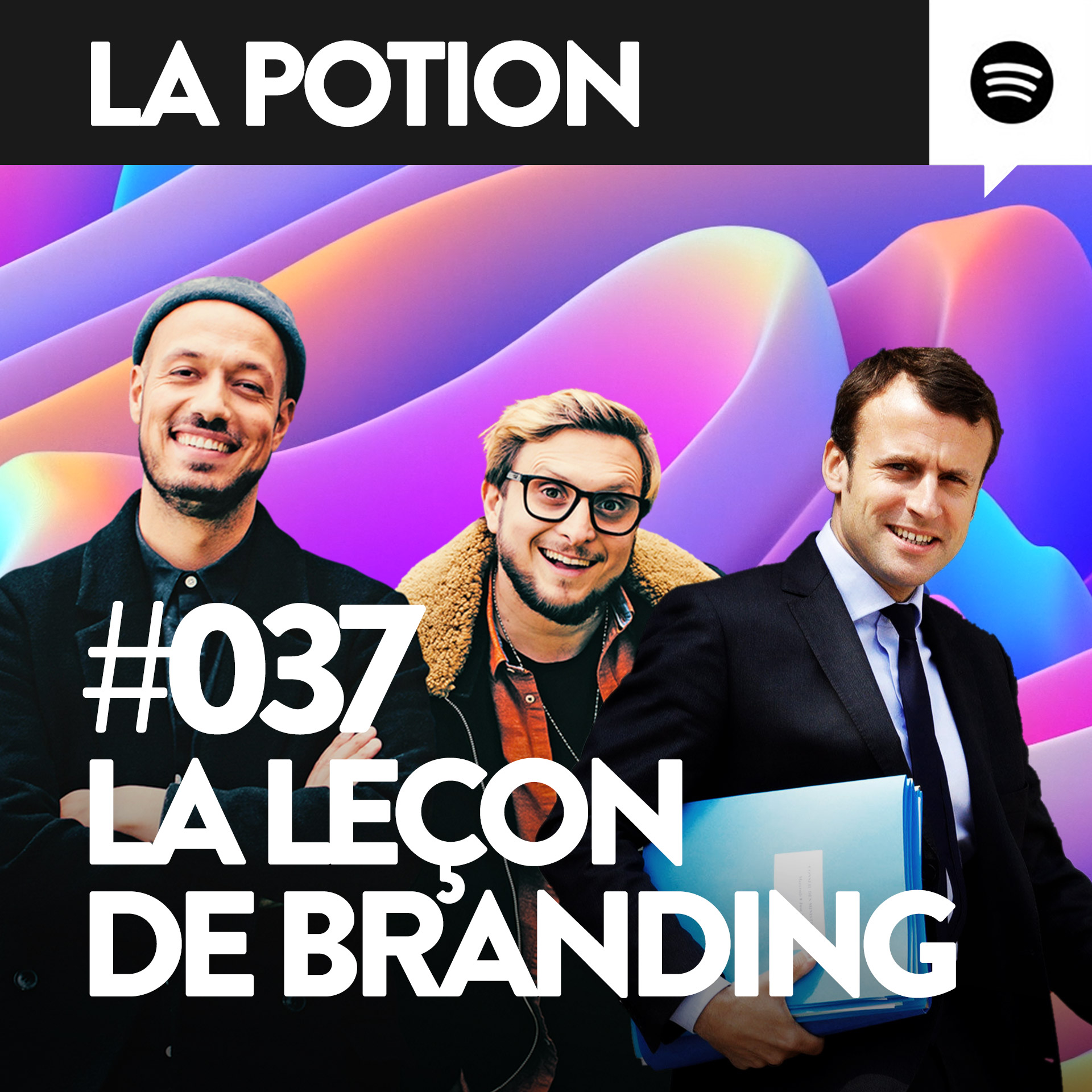 Macron, McFly et Carlito